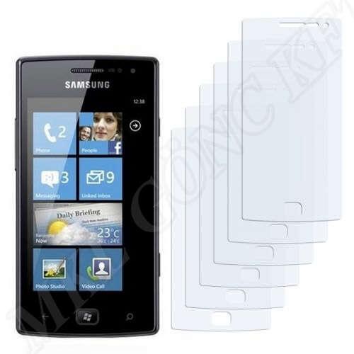 Samsung Omnia W (I8350) kijelzővédő fólia