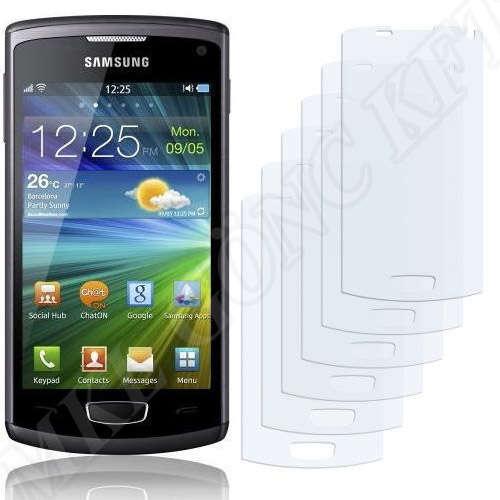 Samsung Wave 3 (S8600) kijelzővédő fólia