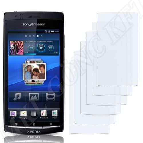 Sony Ericsson Xperia Arc S (LT18i) kijelzővédő fólia