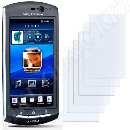 Sony Ericsson Xperia neo V (MT11i) kijelzővédő fólia