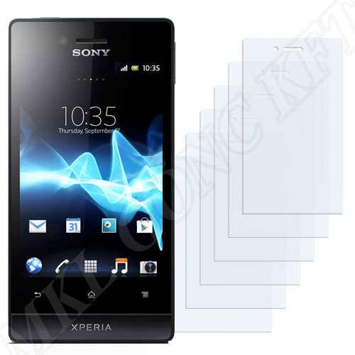 Sony Xperia Miro (ST23a ST23i) kijelzővédő fólia